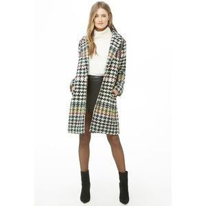 Basketweave Trench Coat